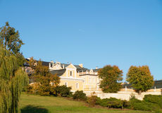 La vista común del palacio Fotos de archivo