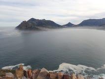 La vista da Chapman& x27; picco di s, vicino a Cape Town, il Sudafrica fotografia stock