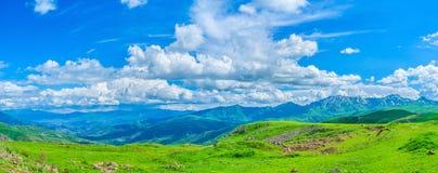 La vista da Selim Pass Fotografie Stock Libere da Diritti