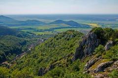 La vista dal lenica nazionale del ¡ di KrÅ della riserva naturale Fotografia Stock Libera da Diritti