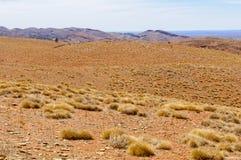 La vista dal rifornisce l'allerta della collina - libbra di Wilpena Fotografie Stock Libere da Diritti