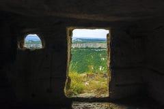 La vista dalla caverna Fotografia Stock