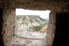 La vista dalla caverna Immagine Stock Libera da Diritti
