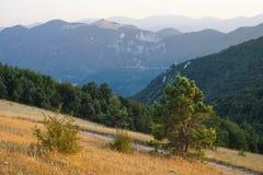 La vista dalla cima di Monte Murano Fotografie Stock Libere da Diritti
