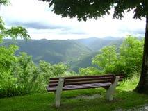 La vista dalla montagna, Slovenia Fotografia Stock Libera da Diritti