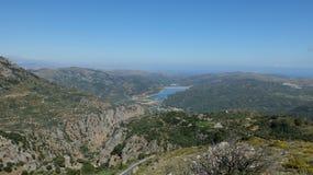 La vista dalle montagne Fotografia Stock Libera da Diritti