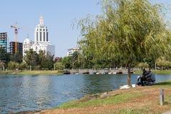 La vista de Batumi Fotos de archivo