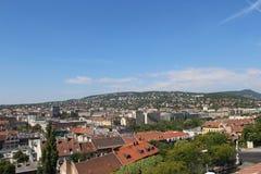 La vista de Budapest Imagen de archivo libre de regalías