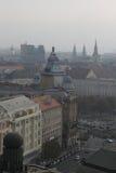 La vista de Budapest, año 2008 imagen de archivo