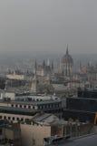 La vista de Budapest, año 2008 fotografía de archivo
