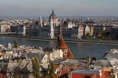 La vista de Budapest, año 2008 Imagenes de archivo