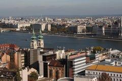 La vista de Budapest, año 2008 imagen de archivo libre de regalías