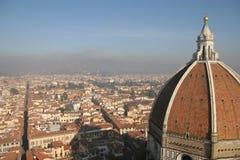 La vista de Florencia Fotografía de archivo libre de regalías