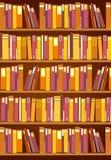 La vista de la biblioteca Foto de archivo