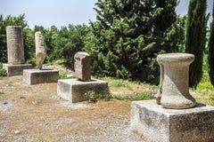 La vista de la ciudad antigua de Ephesus Fotografía de archivo libre de regalías