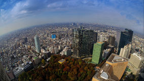 La vista de la ciudad de Tokio Fotografía de archivo