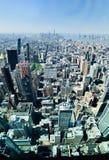 La vista de New York City del Empire State Building imagen de archivo libre de regalías