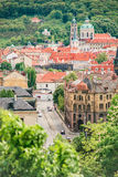 La vista de Praga Fotografía de archivo