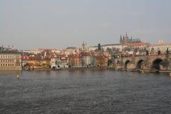 La vista de Praga, República Checa, 2010 foto de archivo libre de regalías