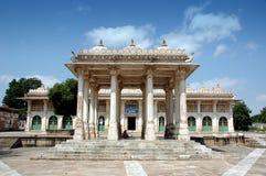 A la vista de Sarkhej Roja, Ahmadabad, la India Foto de archivo libre de regalías