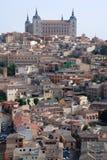 La vista de Toledo Imagenes de archivo
