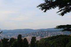 La vista de Trieste Imagen de archivo