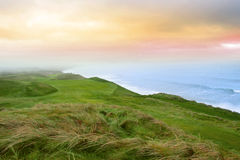 La vista del Ballybunion liga el campo de golf Imagen de archivo