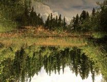 La vista del cielo Fotografie Stock Libere da Diritti