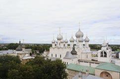 La vista del Cremlino di Rostov Immagine Stock Libera da Diritti