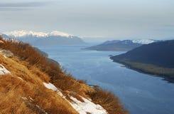 La vista dell'Alaska Immagine Stock Libera da Diritti