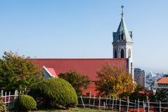 La vista della chiesa Fotografia Stock Libera da Diritti