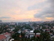 La vista della città del Kochi immagini stock