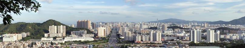 La vista della città di zhuhai immagine stock libera da diritti