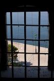 La vista della finestra Fotografie Stock Libere da Diritti