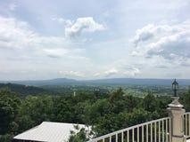 La vista della montagna superiore Fotografia Stock
