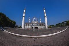 La vista della moschea di Sultan Salahuddin Abdul Aziz Shah è la moschea dello stato di Selangor, Malesia Fotografia Stock