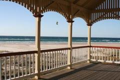 La vista della spiaggia Fotografie Stock