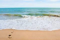La vista della spiaggia della Tailandia Immagini Stock