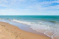 La vista della spiaggia della Tailandia Fotografia Stock