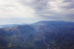 La vista delle montagne Fotografie Stock Libere da Diritti