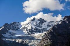 La vista delle montagne Immagini Stock Libere da Diritti