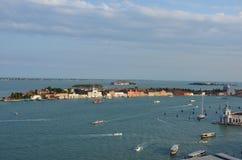 Giudecca del La - Venecia - Italia fotografía de archivo libre de regalías