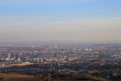 La vista di capitale austriaca Vienna Immagine Stock