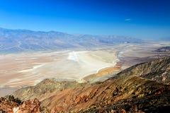 La vista di Dante, Death Valley Immagini Stock Libere da Diritti