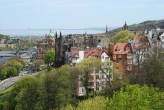 La vista di Edimburgo Fotografia Stock