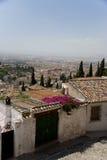 Vista di Granada Fotografia Stock Libera da Diritti