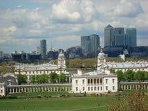 La vista di Londra Fotografie Stock