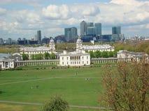 La vista di Londra Fotografia Stock Libera da Diritti