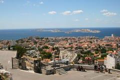 La vista di Marsiglia Fotografia Stock Libera da Diritti