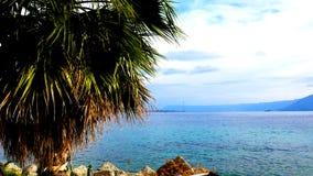 La vista di Messina Fotografie Stock Libere da Diritti